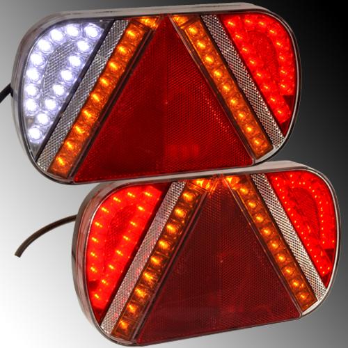 Anhänger Beleuchtung Led | Led Ruckleuchten Anhanger Lkw Bus Caravan Traktor Jmi Shop24