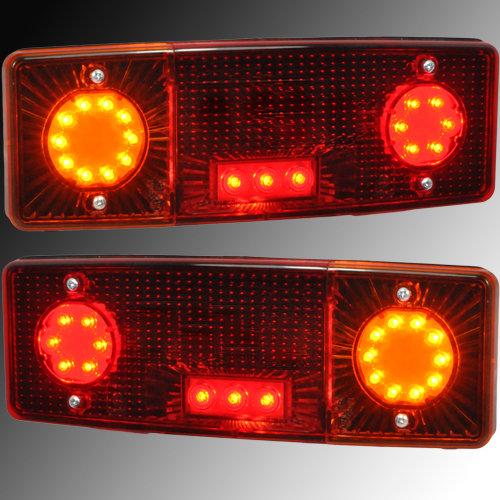 2 x Leuchte Schlusslicht Heckleuchte Rückleuchte PKW Anhänger Rücklicht