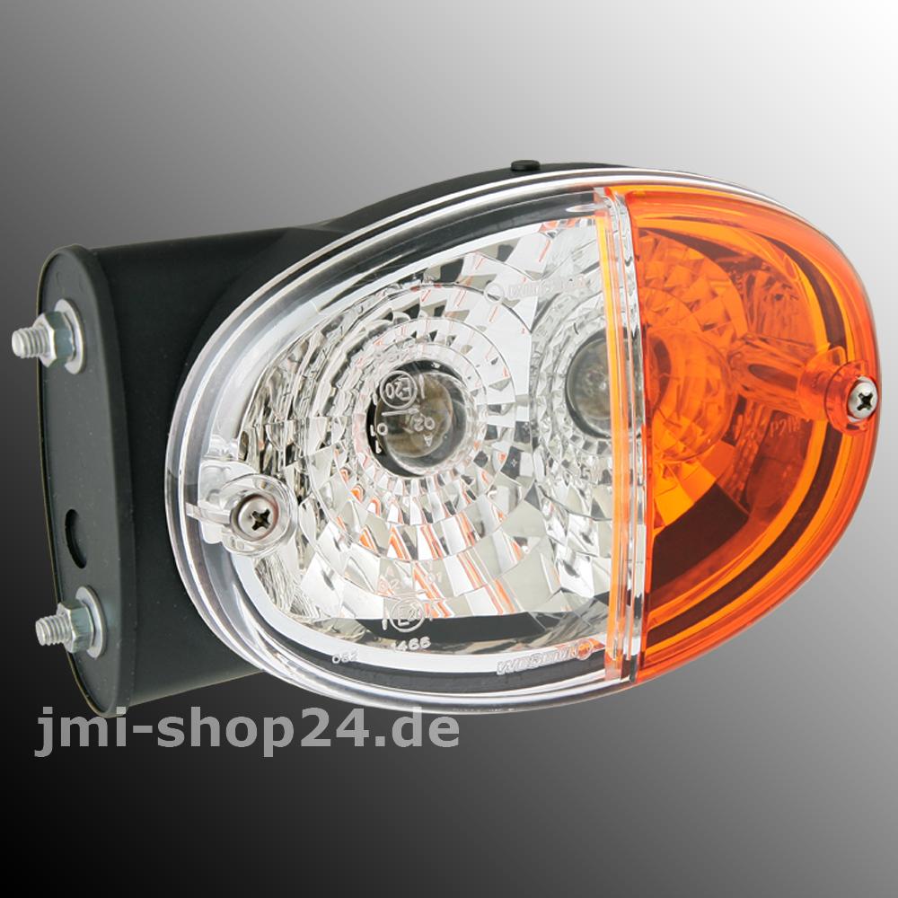 Positionsleuchte mit Blinklicht Traktor Schlepper Oldtimer Positionslicht Rechts